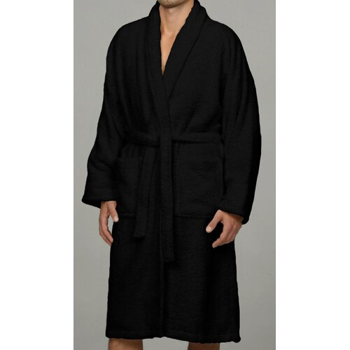 Luxor Linens Salerno 100% Egyptian Cotton Luxury Bath Robe