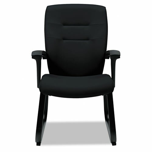 Synopsis Series Guest Arm Chair With Sled Base