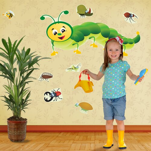 Really Big Bugs Wall Decal Set
