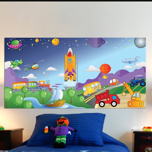 Mona Melisa Designs Cars/Trucks Wall Mural
