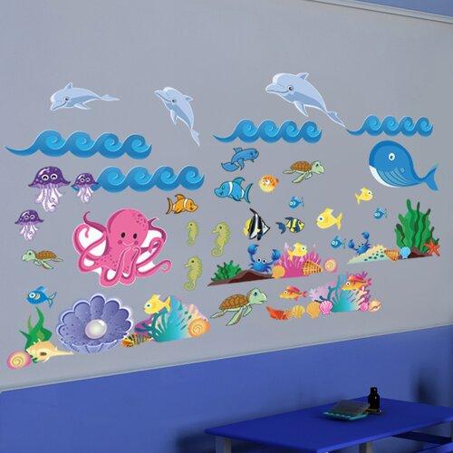 Peel and Play Ocean Girl Wall Decal