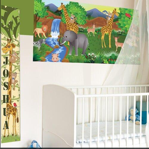Mona Melisa Designs Giraffe Girl Growth Chart