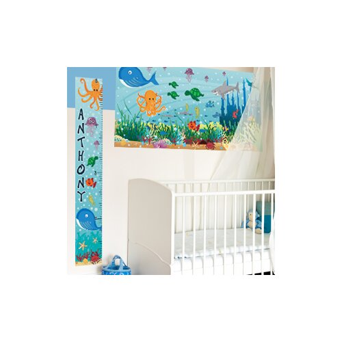 Mona Melisa Designs Ocean Girl Growth Chart