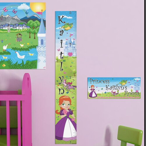 Mona Melisa Designs Princess Girl Growth Chart
