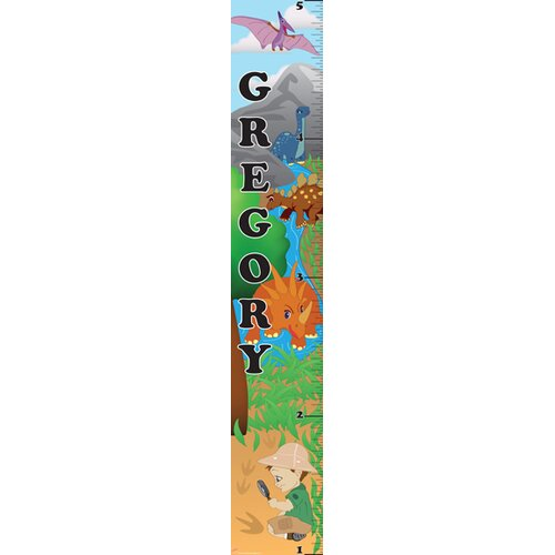 Mona Melisa Designs Dino Boy Growth Chart