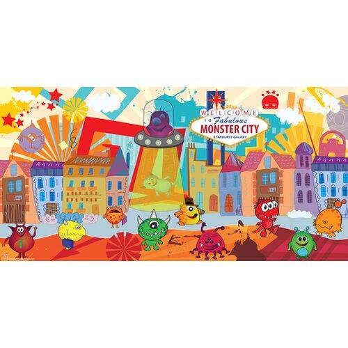 Monster Boy Wall Mural