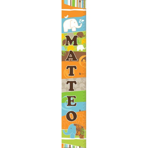 Mona Melisa Designs Elephant Boy Growth Chart