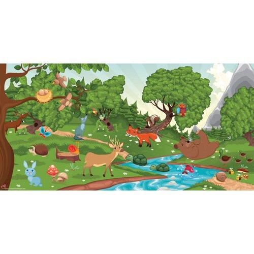 Forest Boy Wall Mural