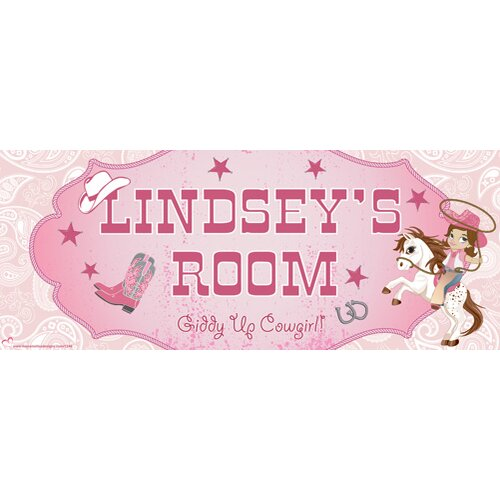 Cowgirl Wall Decal