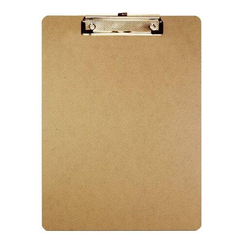Bazic Standard Size Hardboard Clipboard
