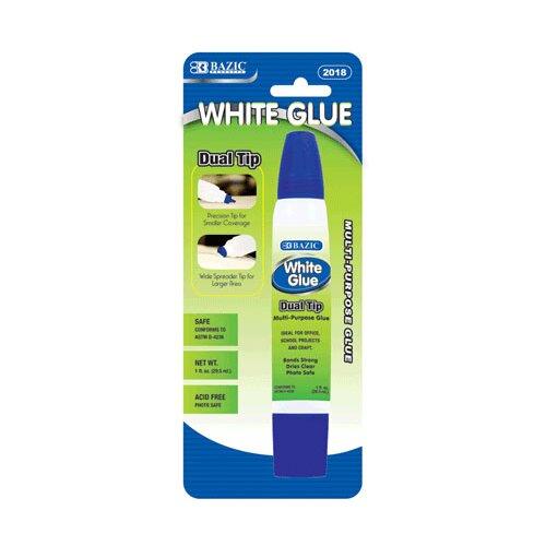 Bazic Dual Tip White Glue