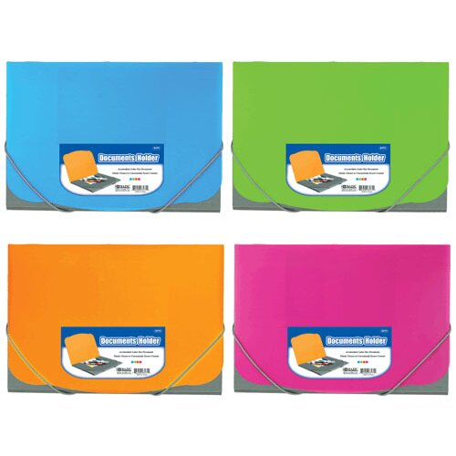 Bazic Two Tone Letter Size Document Holder
