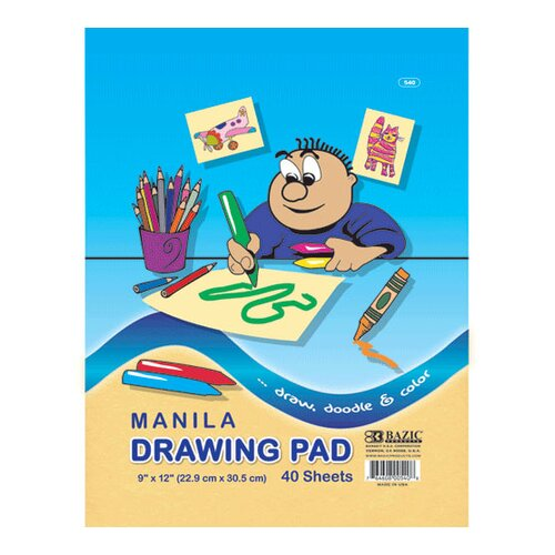 Bazic Manila Drawing Pad