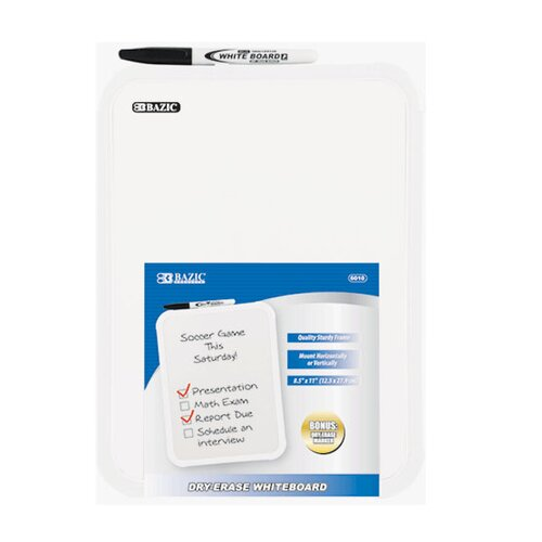 Bazic Dry Erase Board with Marker