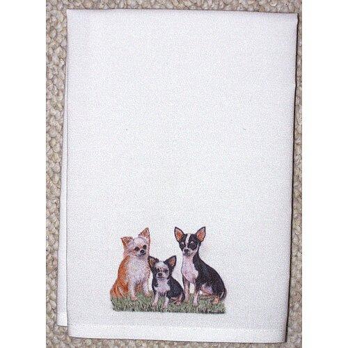 Betsy Drake Interiors Pets Chihuahua Hand Towel