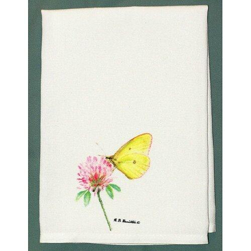 Betsy Drake Interiors Butterfly Sulphur Hand Towel