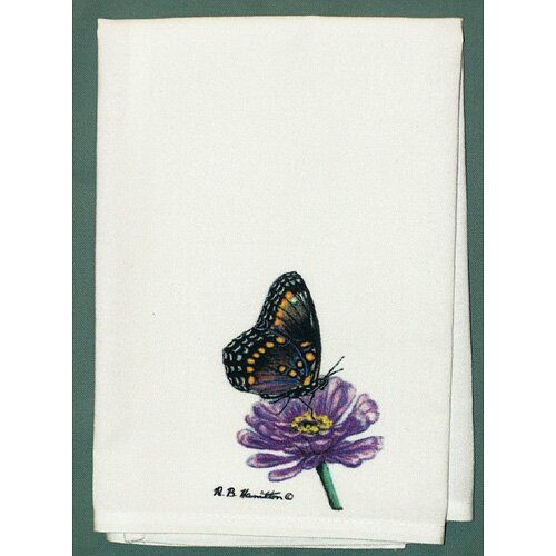 Butterfly Spotted Hand Towel
