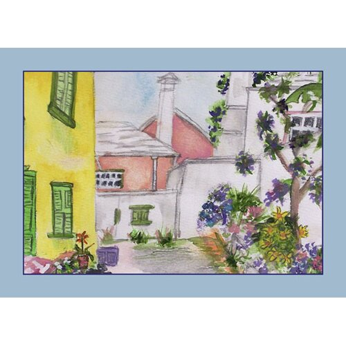 Betsy Drake Interiors Yellow House Placemat