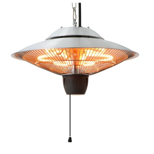 Dual Power Electric Patio Heater