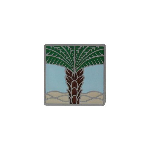"Notting Hill Tropical 1.5"" Square Knob"
