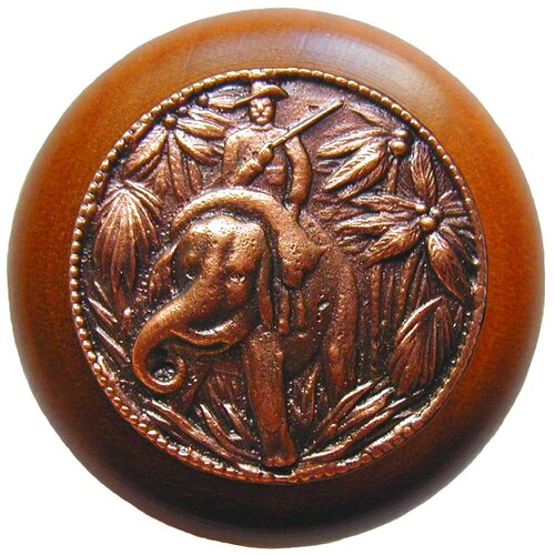 "Notting Hill All Creatures 1.5"" Round Knob"