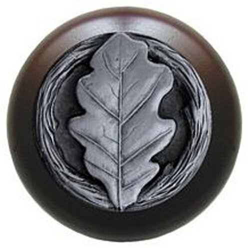 "Notting Hill Leaves 1.5"" Round Knob"