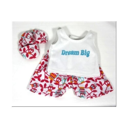 Dream Big 3 Piece Pajamas for 18