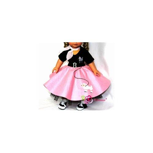 Arianna Fabulous 50's Poodle Skirt Costume