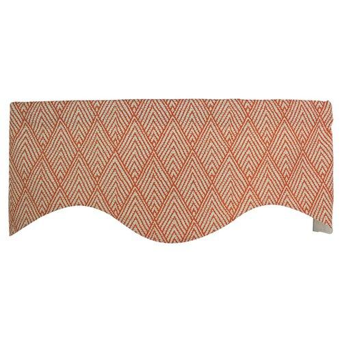 "RLF Home Tahitian Stitch 50"" Curtain Valance"