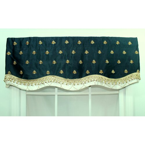 "RLF Home Bumblebee Glory 50"" Curtain Valance"