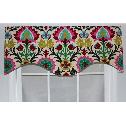 "RLF Home Wonderlust 50"" Curtain Valance"
