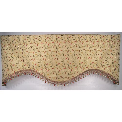 """RLF Home Odienne 50"""" Curtain Valance"""
