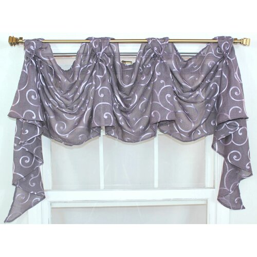 """RLF Home Brode Victory 36"""" Curtain Valance"""