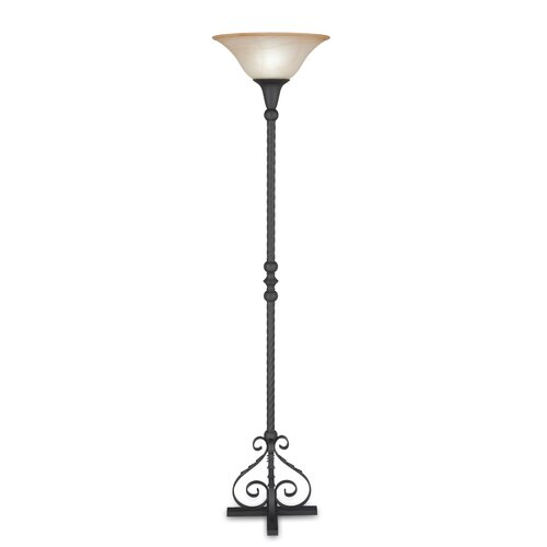 Remington Lamp Company 1 Light Torchiere Floor Lamp