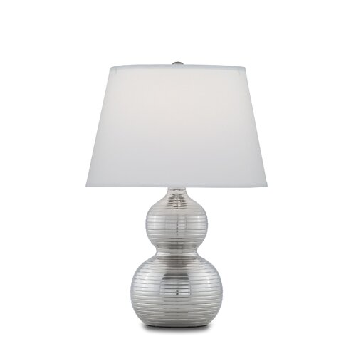 "Remington Lamp Company 18"" H Ribbed Gourd 1 Light Table Lamp"