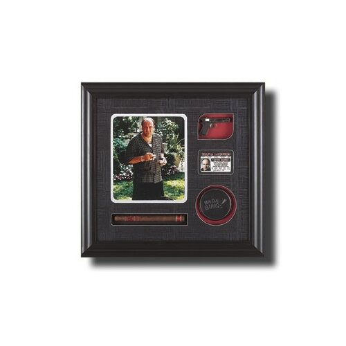 Legendary Art Tony Soprano Artwork Memorabilia Shadow Box