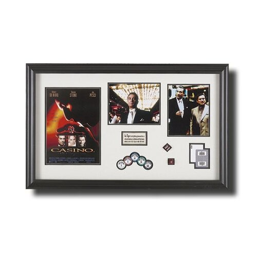 'Casino' Framed Memorabilia Shadow Box