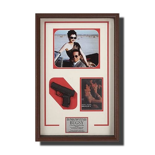 Legendary Art 'Bugsy' Memorabilia Shadow Box