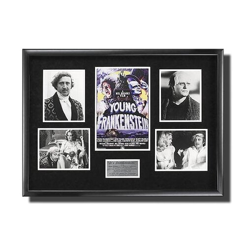 Legendary Art 'Young Frankenstein' Framed Memorabilia