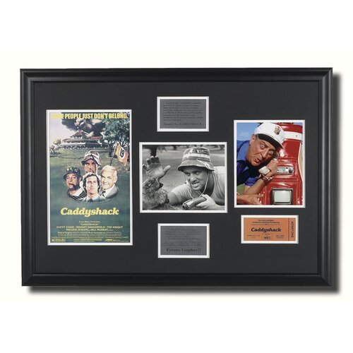 Legendary Art 'Caddyshack' Framed Memorabilia