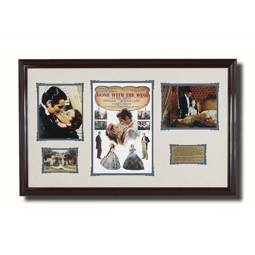 'Gone With The Wind' Framed Memorabilia