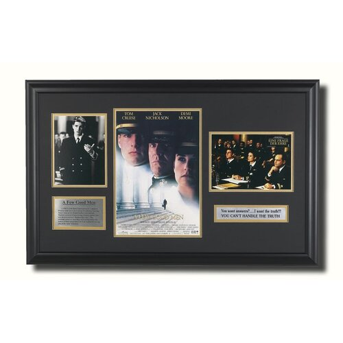 'A Few Good Men' Framed Memorabilia