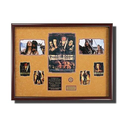 'Pirates of The Carribean' Framed Memorabilia