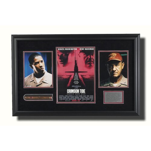 Legendary Art 'Crimson Tide' Framed Memorabilia