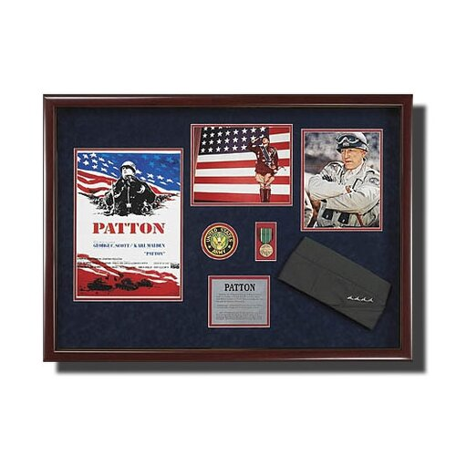 'Patton' Framed Memorabilia
