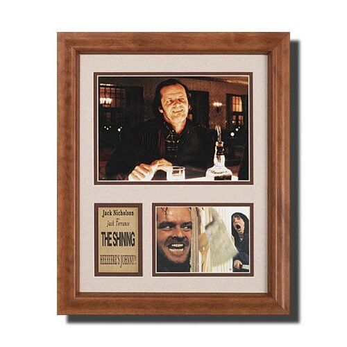 'The Shining' Movie Framed Memorabilia