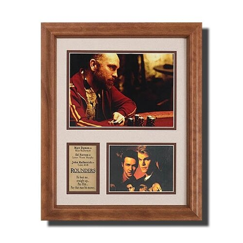 'Rounders' Movie Framed Memorabilia