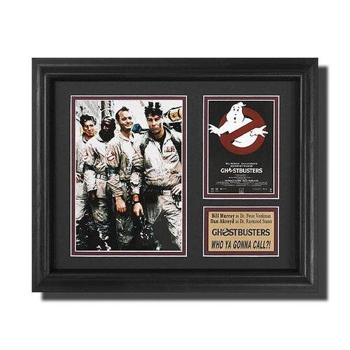 'The Ghostbusters' Movie Framed Memorabilia