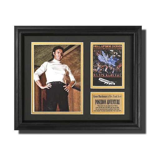 Legendary Art 'Poseidon Adventure' Movie Framed Memorabilia