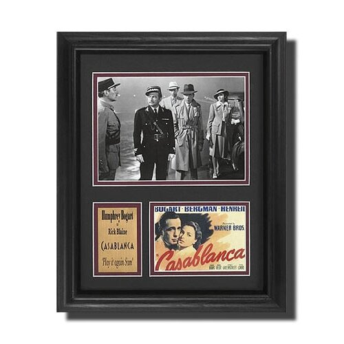 Legendary Art 'Casablanca' Movie Framed Memorabilia